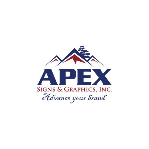 Lake bluff il custom sign company apex signs graphics for 1 sherwood terrace lake bluff il