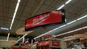 Custom Retail Signs Milwaukee Metal Hanging Sign
