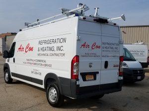Custom Van Wrap Lake Bluff, IL