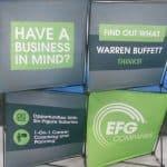 EFG Trade Show Info Box Popup