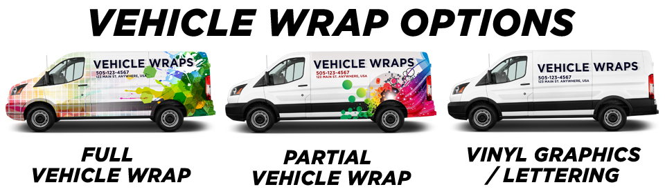 Russell Vehicle Wraps vehicle wrap options